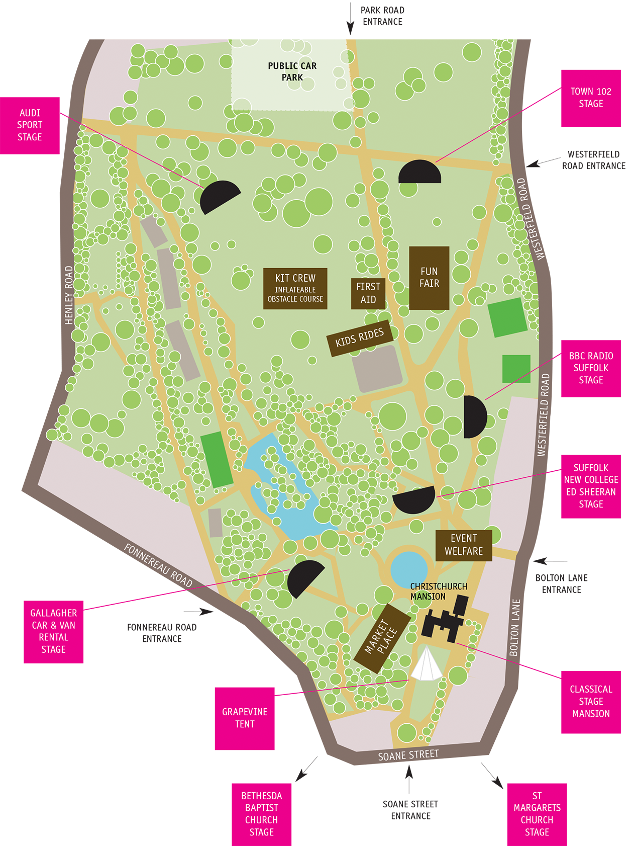 Music Day Map