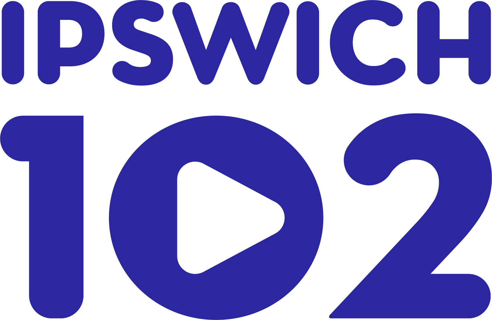 Ipswich 102 logo